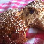 Raisin Bread - The perfect healthy snack (Stafidopsomo)-7