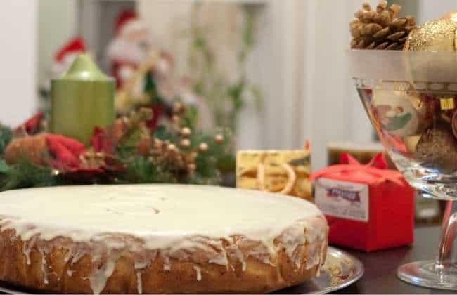 Vasilopita Cake Recipe (Greek New Year's cake)