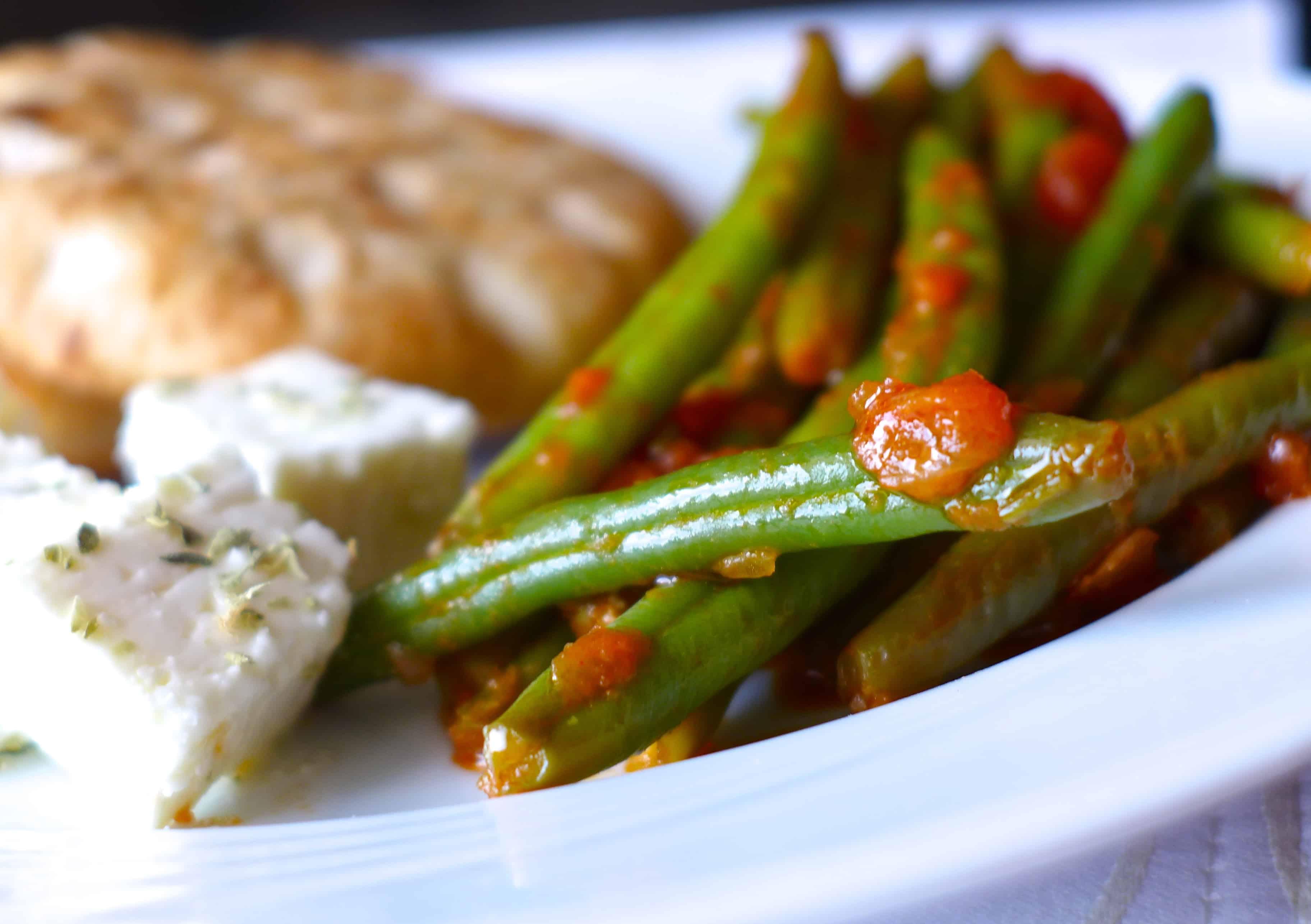 Traditional Greek Green Beans Recipe
