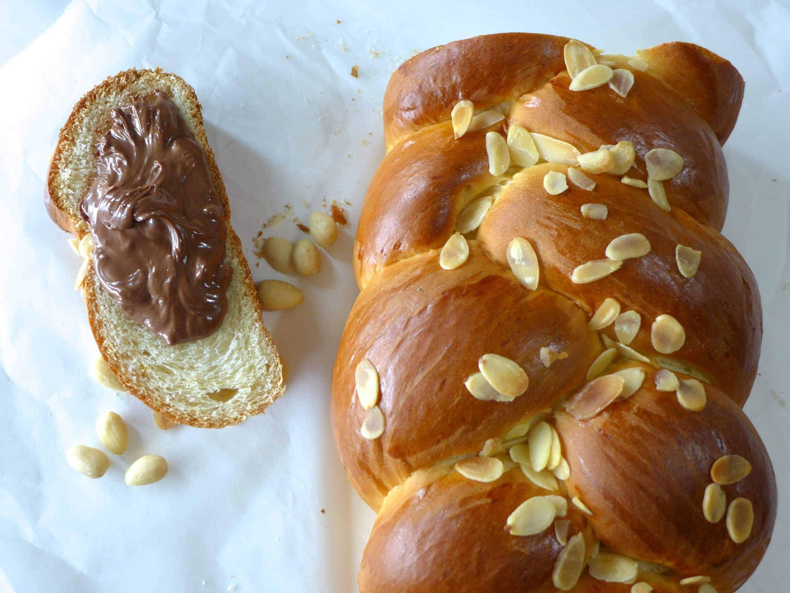Tsoureki Recipe Traditional Greek Easter Bread My Greek Dish