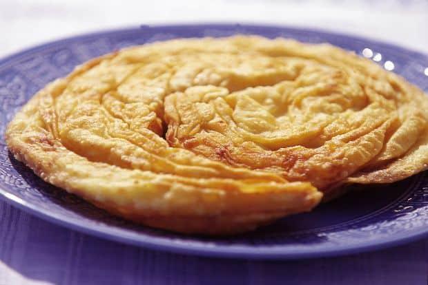 Greek cheese pie - Skopelitiki tiropita