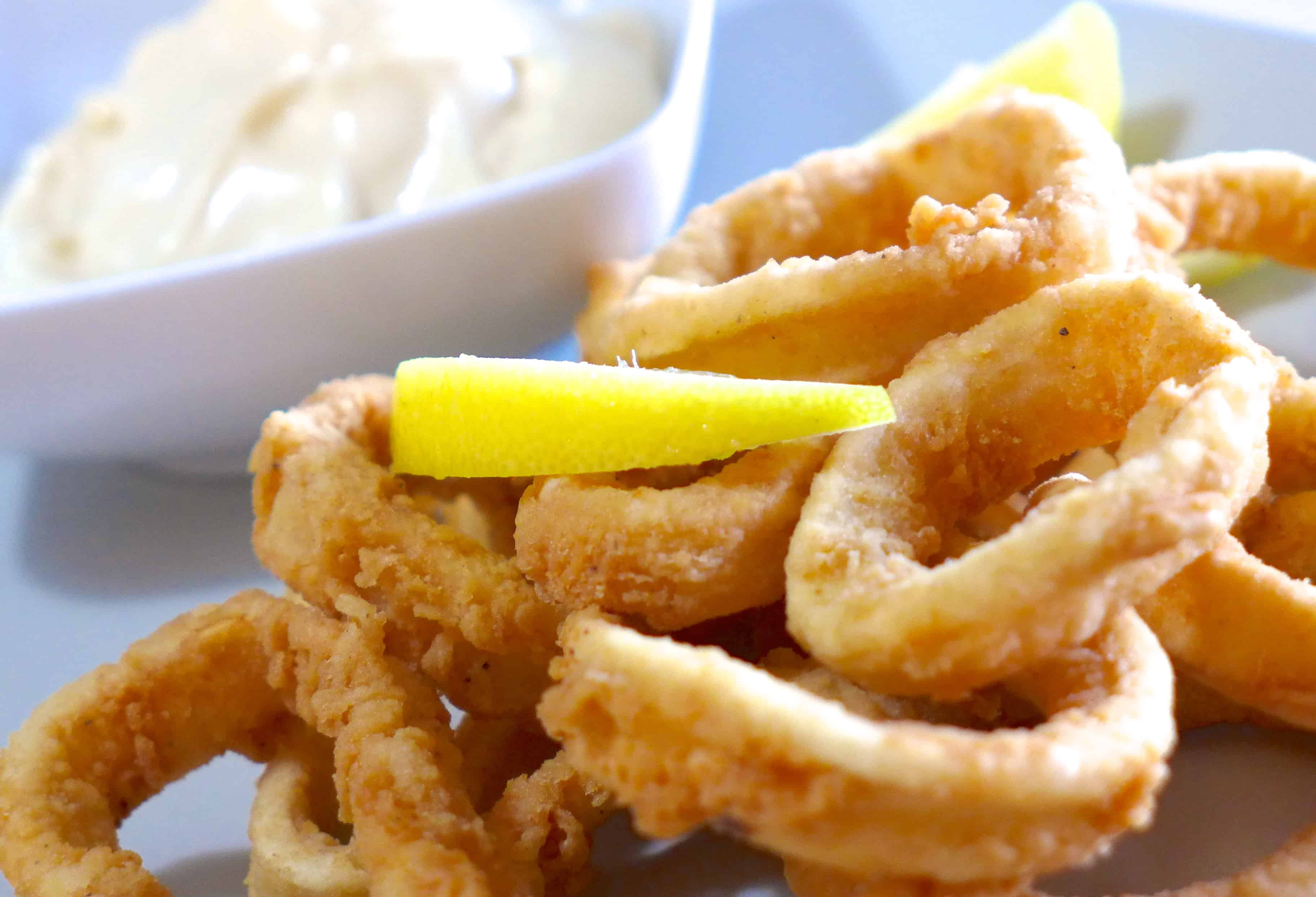 Easy squid ring recipes