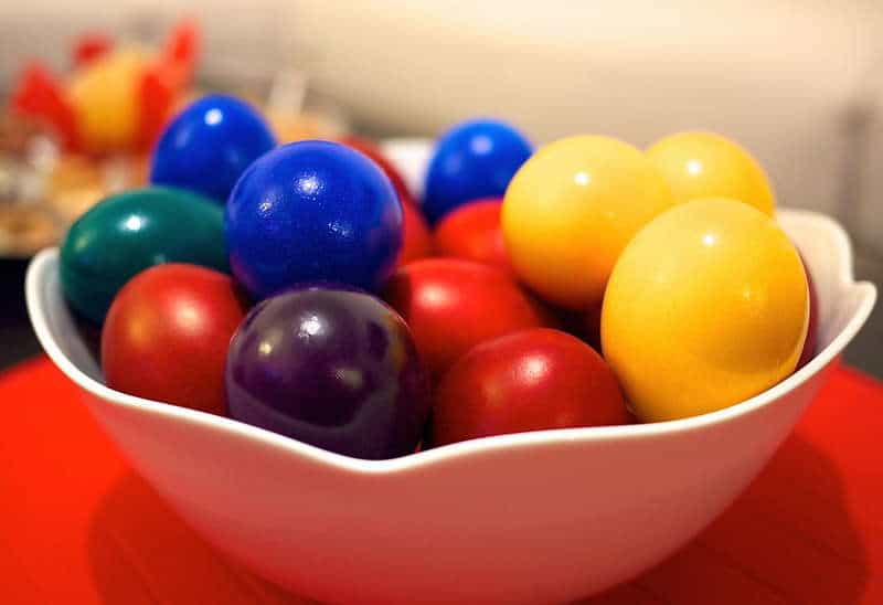 Dyed greek easter eggs recipe my greek dish dyed greek easter eggs recipe forumfinder