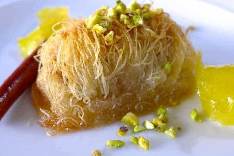 Homemade Kataifi recipe