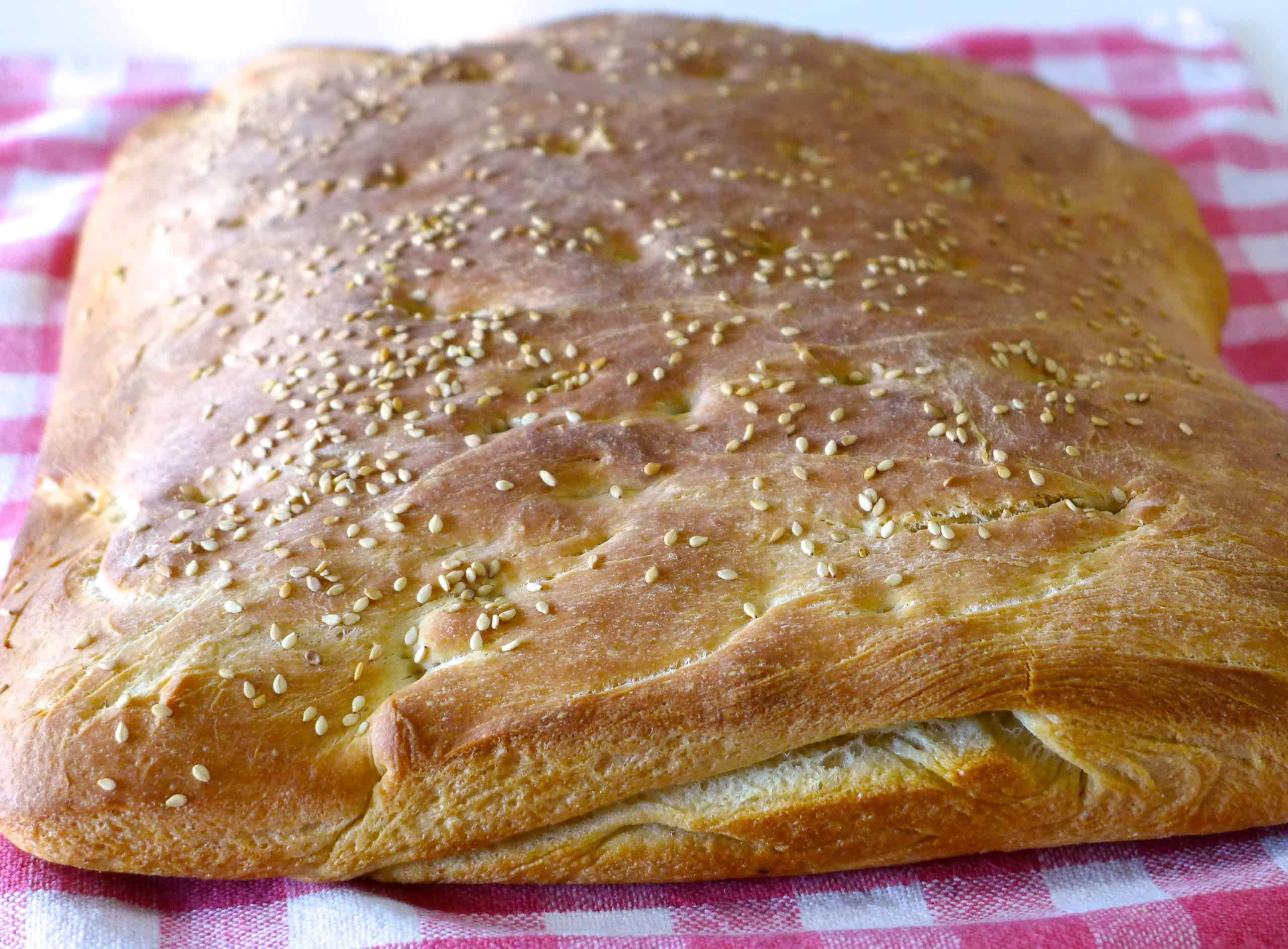 Traditional Lagana Bread recipe (Greek Clean Monday Bread)