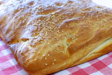 Traditional Lagana Bread recipe (Greek Clean Monday Bread)