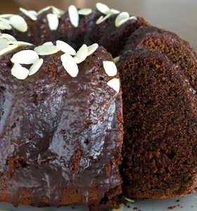 Amazing Lenten Chocolate Sponge Cake!