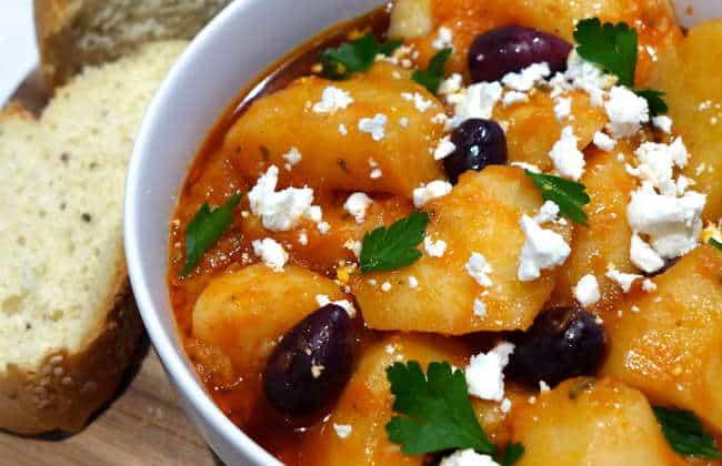 Greek Potato stew recipe (Patates yahni)