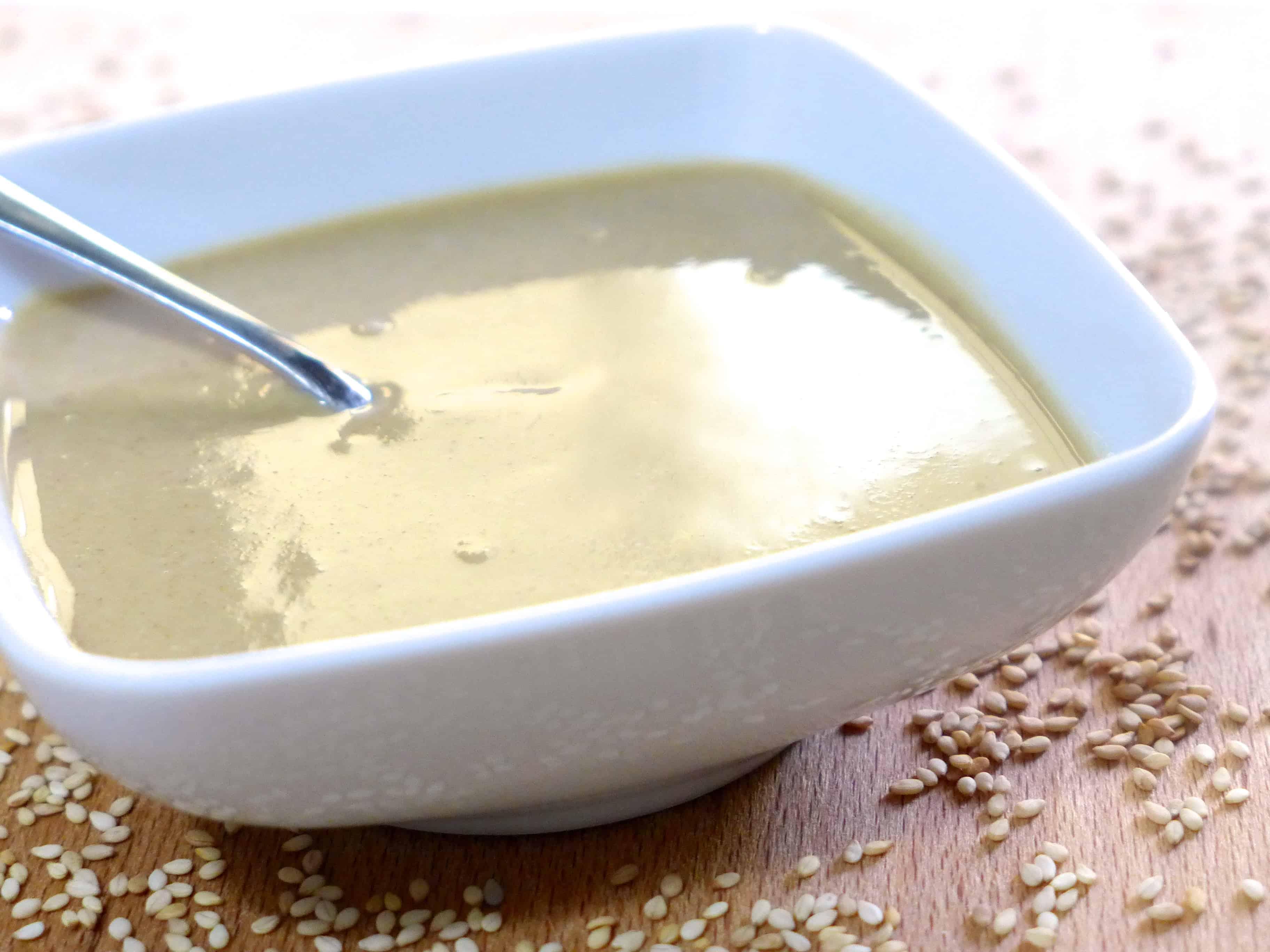 Homemade Tahini paste recipe