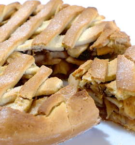 Scrumptious Lenten Apple Pie Recipe! (Greek Milopita)