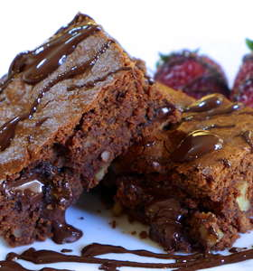 Perfect Lenten Chocolate Brownies!