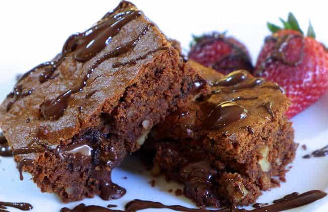 Perfect Lenten Chocolate Brownies!