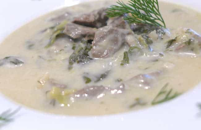 Magiritsa recipe (Greek Easter soup)