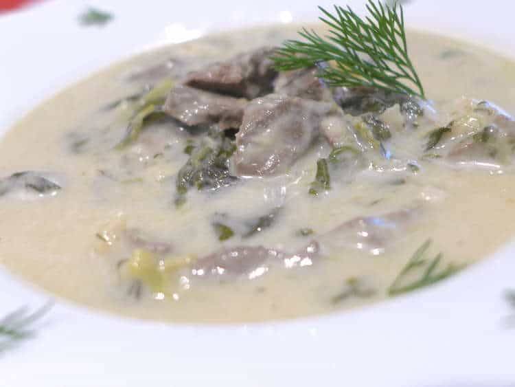 Magiritsa recipe (Greek Easter soup)