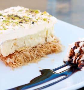 Ekmek Kataifi recipe
