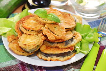 Fried Eggplant recipe (Greek Melitzanes tiganites)