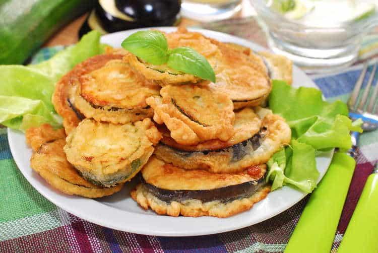 Fried Eggplant recipe (Greek Melitzanes tiganites)