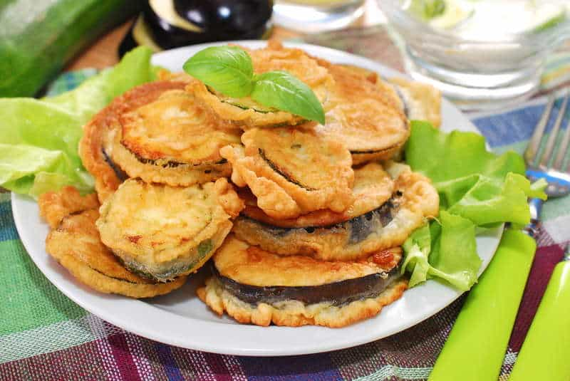 Crispy greek fried eggplant recipe melitzanes tiganites my greek crispy greek fried eggplant recipe melitzanes tiganites forumfinder