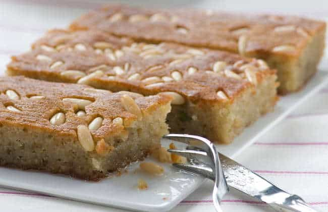 Samali recipe (Extra syrupy Greek Semolina cake with Mastic)