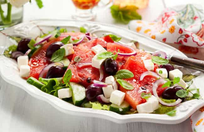 Refreshing Watermelon Feta Salad recipe
