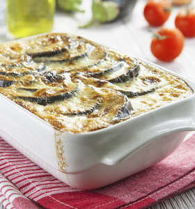 Delicious Vegetarian Moussaka Recipe with Mushroom Sauce