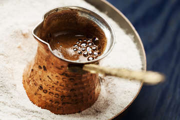 Greek coffee recipe-How to make Greek coffee (Ellinikos kafes)