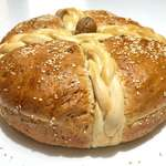 Christopsomo recipe (Greek Christmas Bread with Walnuts)