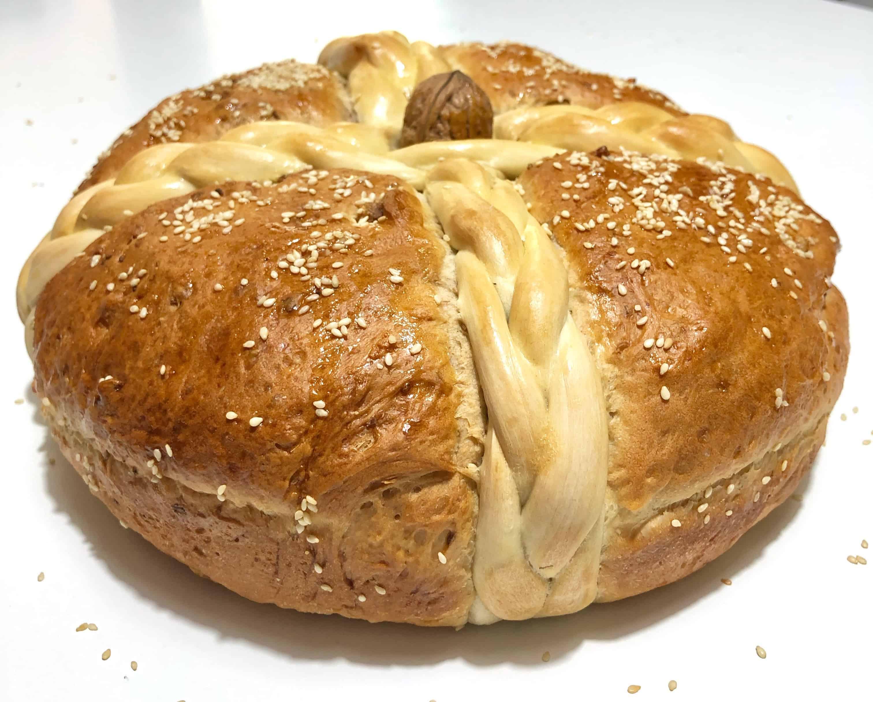 Christopsomo recipe (Greek Christmas Bread)