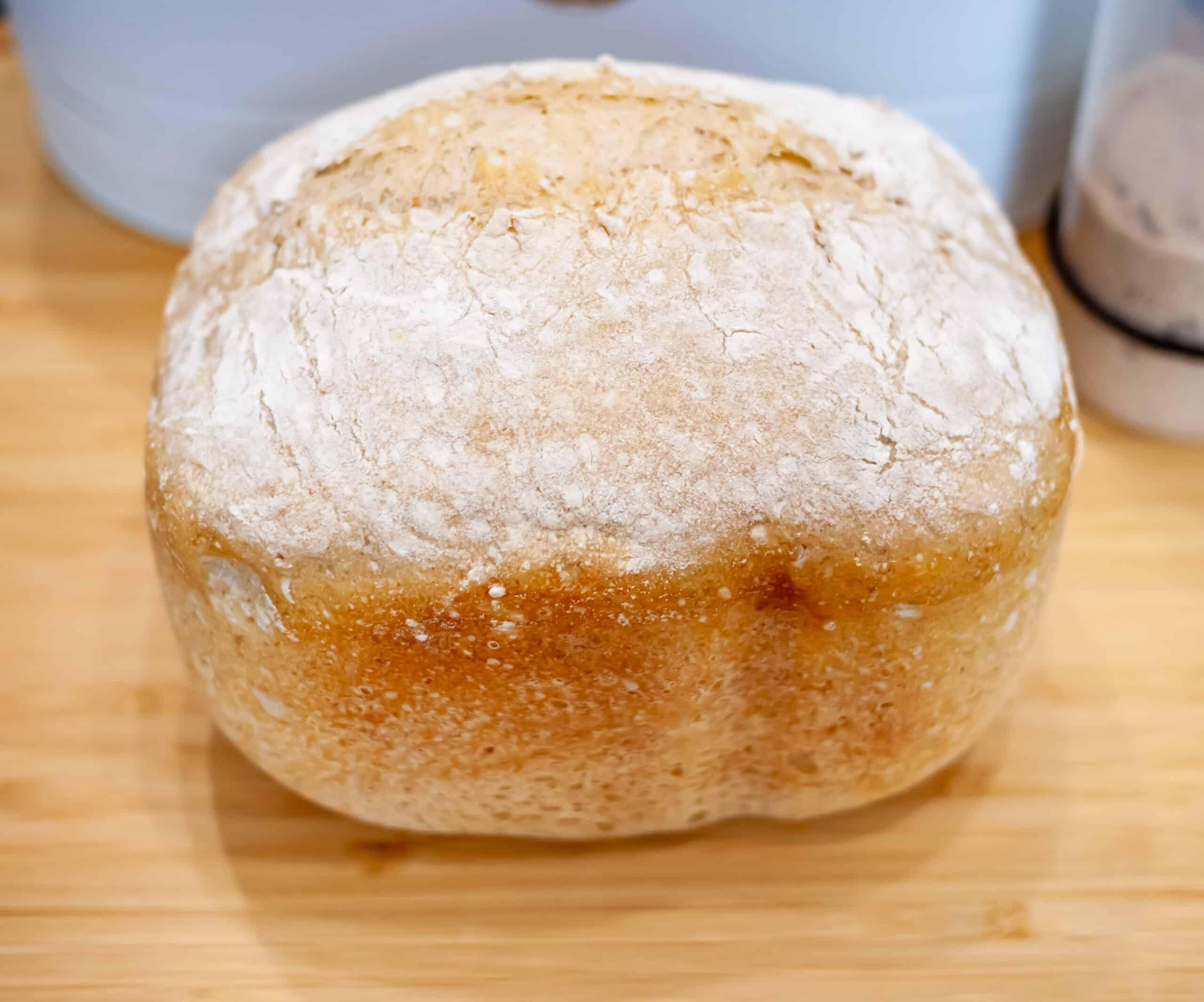 Bread machine sourdough bread no yeast