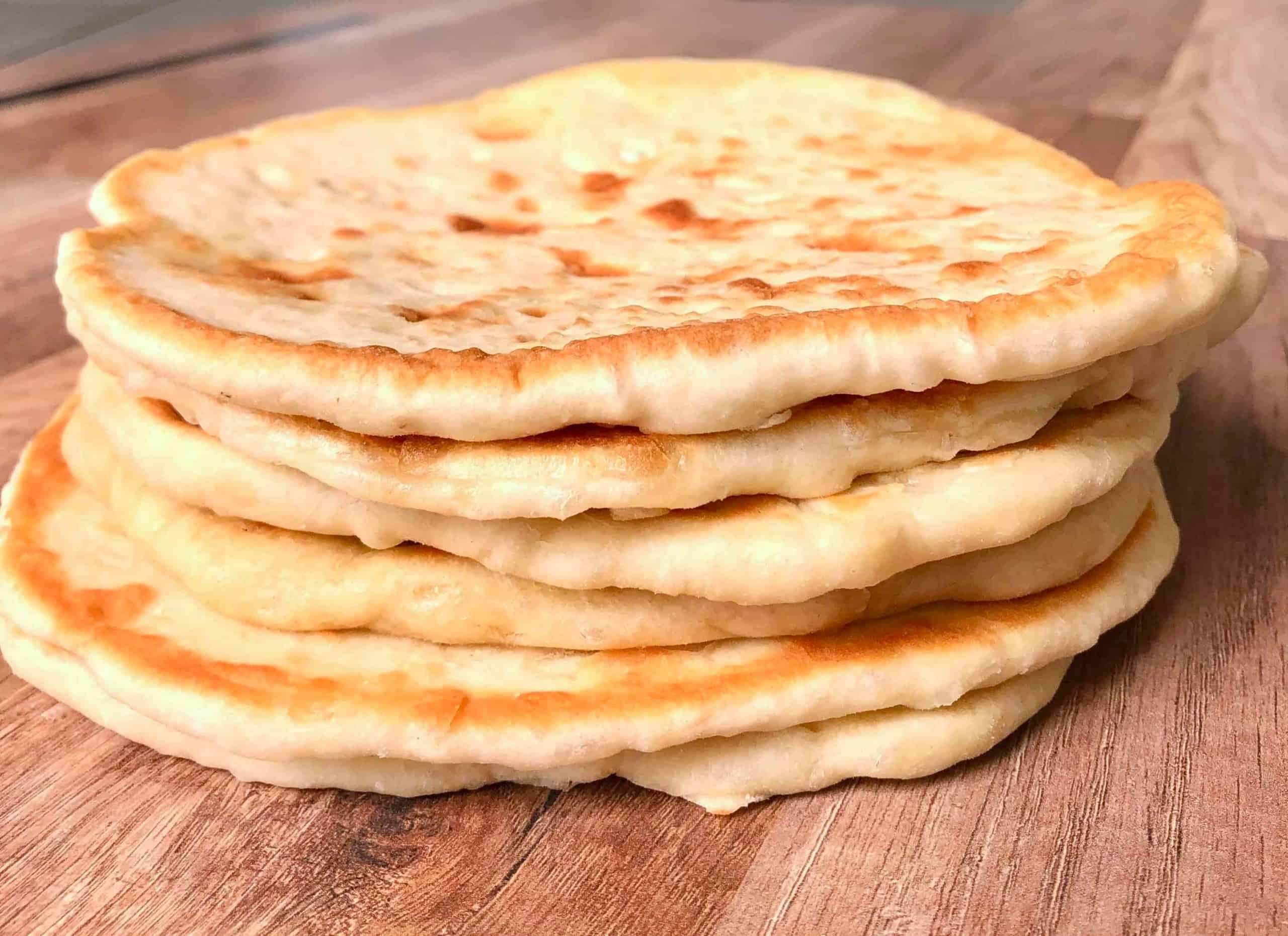 Easiest homemade Greek Pita Bread recipe